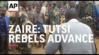 ZAIRE: TUTSI REBELS ADVANCE ON KEY GOVERNMENT CONTROLLED TOWNS