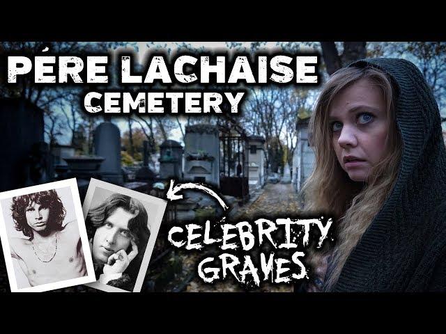 FAMOUS GRAVES and Ghost Stories | Père Lachaise Cemetery, Paris France