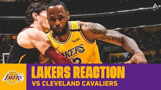 Download Lakers Reaction: LeBron and Dwight Power Lakers in 81-Point Half Mp3 and Videos