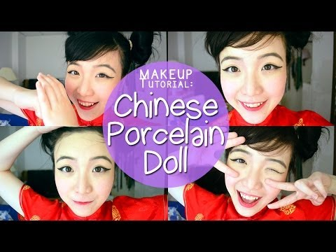 Chinese Porcelain Doll Makeup Melonyzz Youtube
