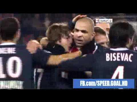 PSG 1 - 0 Montpellier - Alex 41'
