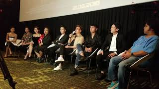 ỐNG KÍNH HẬU TRƯỜNG || Đại Nghĩa cùng dàn sao Việt trong buổi ra mắt web drama BơLang