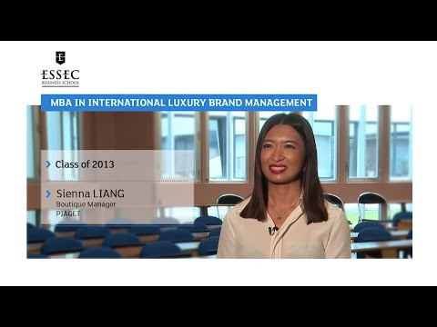 MBA in International Luxury Brand Management - Sienna Liang class of 2013