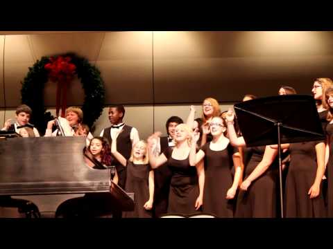 2011 EAST COWETA MIDDLE SCHOOL CHRISTMAS CONCERT (THE GLEE CLUB)
