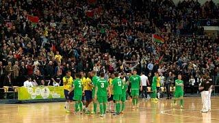 Сборная Беларуси обыграла Бразилию в матче-открытии ЧМ по футзалу