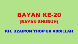 020 Bayan KH Uzairon TA Download Video Youtube|mp3