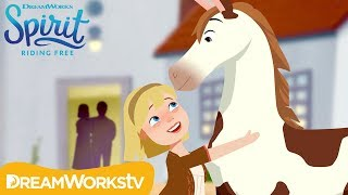Fast Friends: Abigail & Boomerang Meet for the FIRST Time! | SPIRIT RIDING FREE