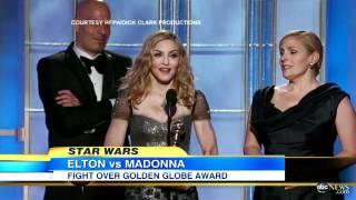 """Madonna, Elton John Feud: Spat Following """"Masterpiece"""" Singe..."""