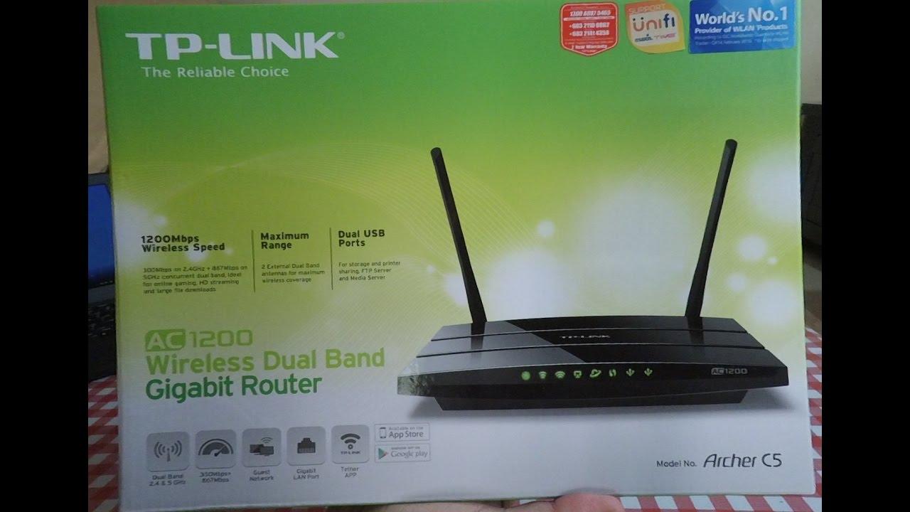 TP-Link Archer C5 v2 Router Driver Download (2019)