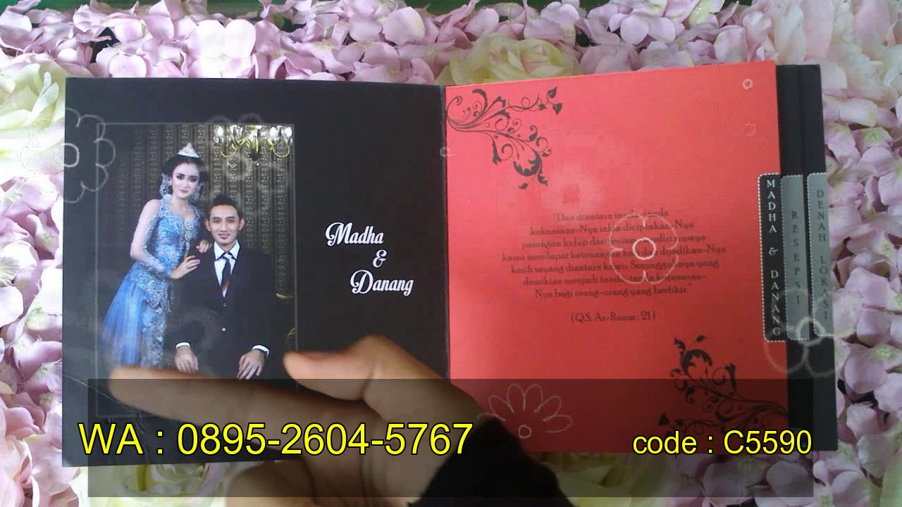 Wedding Invitation Cards Samples CS590 - YouTube