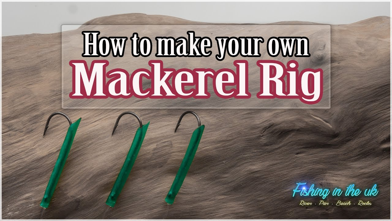 how to make a mackerel rig  diy sea fishing rig  YouTube
