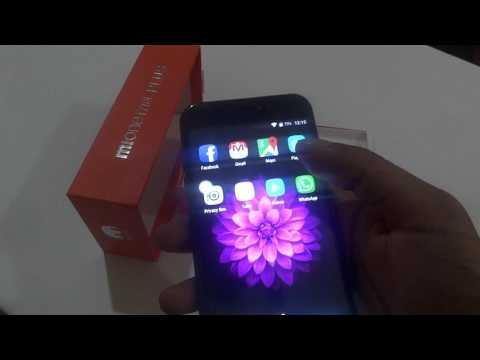 Mione i7 S Plus smartphone Unboxing and review - YouTube