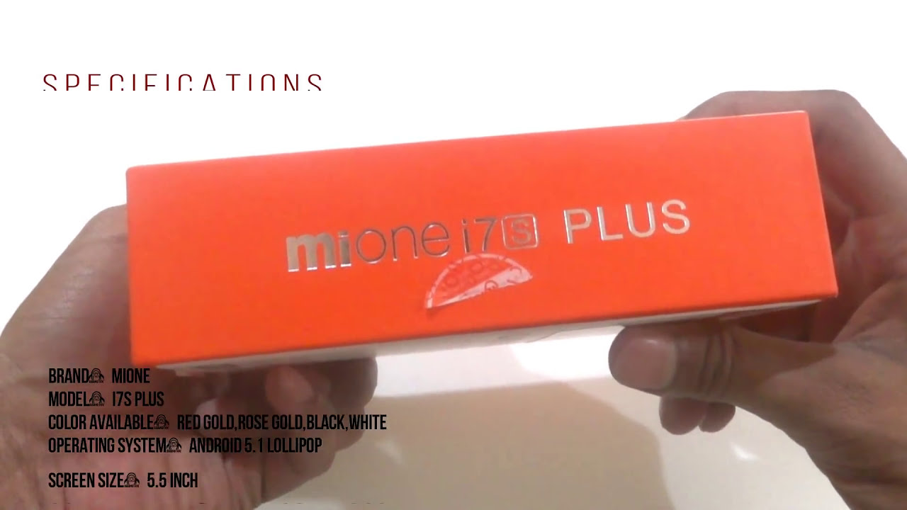 Mione I7 S Plus Smartphone Unboxing And Review  Footrabev 369 04:34 HD