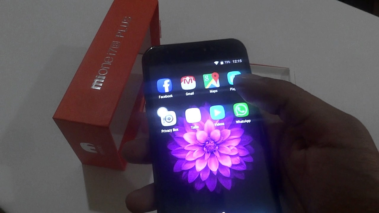Mione i7 S Plus smartphone Unboxing and review