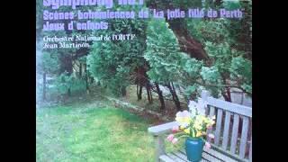 ビゼー 小組曲「子供の遊び」 マルティノン / フランス国立放送管弦楽団
