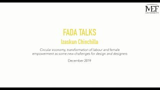FADA Talks - Izaskun Chinchilla