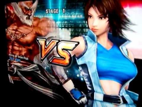 Tekken 5 (PS2): Playing as Jinpachi Mishima (Human Form ...