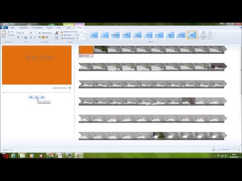 How to make a video using Windows Media Player