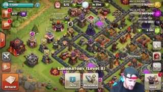 BUYING THE UPDATE - Clash of Clans - NEW SPELLS AND FAIL RAI