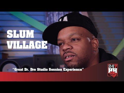 Slum Village - Great Dr. Dre Studio Session Experience (247HH Exclusive)