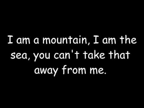 Biffy Clyro - Mountains ( with lyrics )