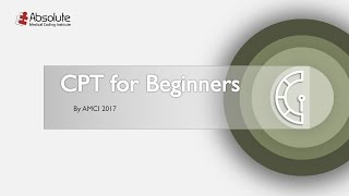 AMCI CPT Coding for Beginners - 2017