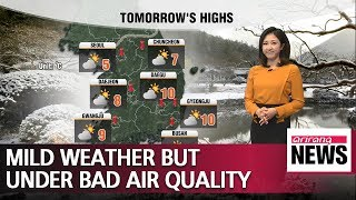 Mild weather but under bad air quality _ 021919