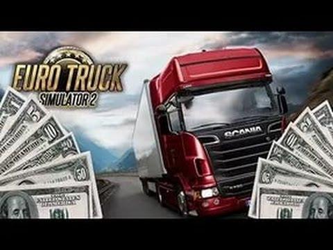 как сделать много денег в игре euro truck simulator