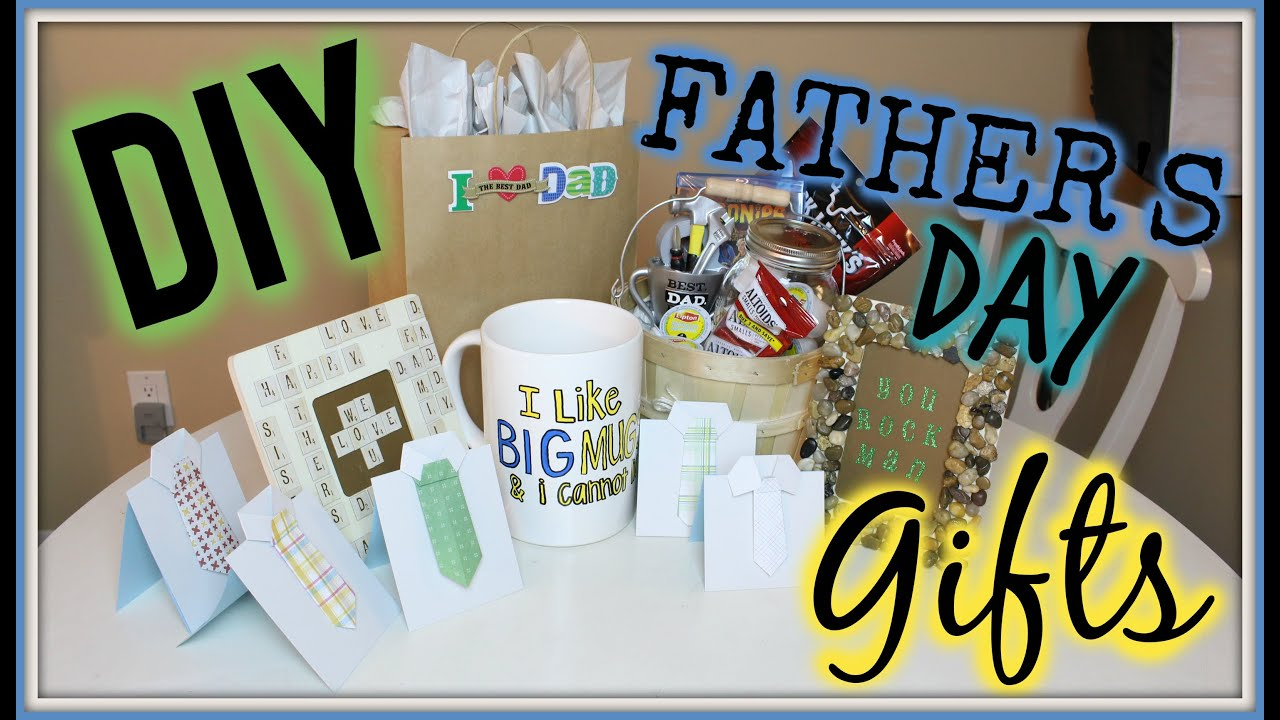 father s day diy gift ideas youtube