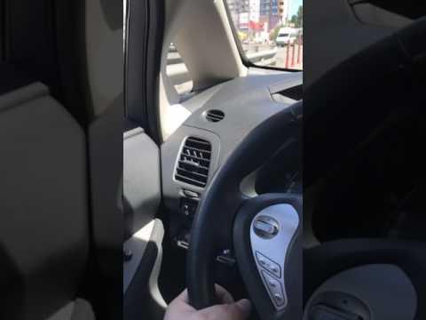 Проехался на электромобиле Nissan Leaf. Первые впечатления