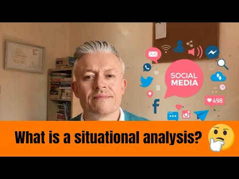 What is a situational analysis & why is it important?