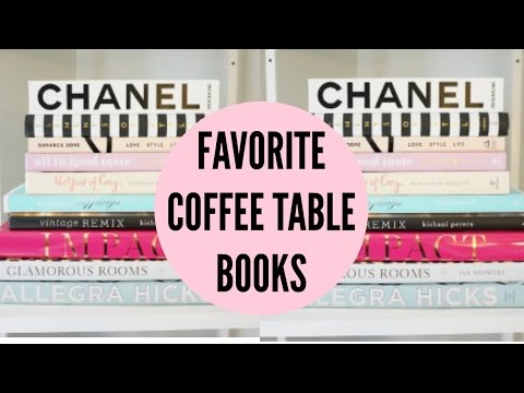 Favorite Coffee Table Books Kate Spade Chanel Glamorous Rooms
