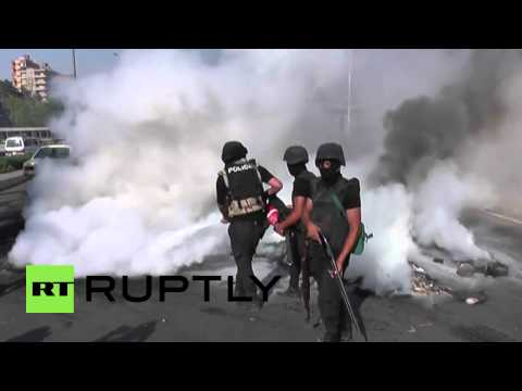 Egypt: Pro-Morsi protesters turn up the heat in Cairo