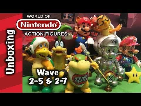 WoN, Iggy Koopa! Lakitu! Hammer Bro! Racoon, Star & Metal Mario Unboxing!