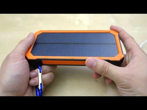 Bienna 30000mAh Solar Chargers External Battery Pack REVIEW