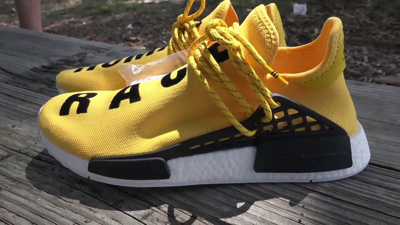 09e060561 Adidas Pharrell Williams  Human Race Unboxing Review - YouTube