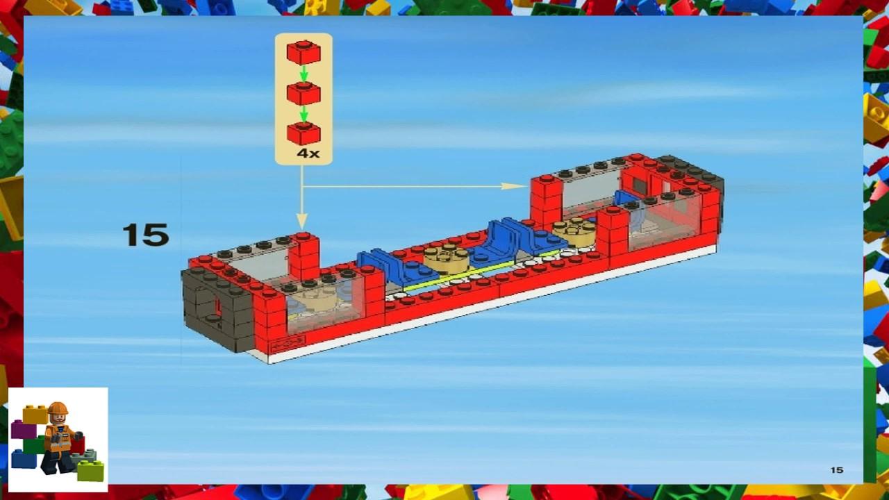 Lego Instructions City Trains 7938 Passenger Train Book 3