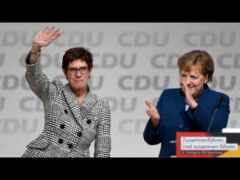 ألمانيا: أنغريت كرامب كارينباور تخلف ميركل في رئاسة الحزب المسيحي الديمقراطي  - 13:55-2018 / 12 / 8