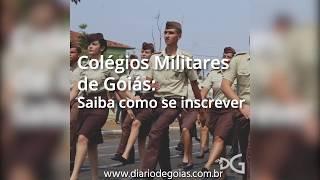 Abertas inscrições para Colégio Militar em Goiás. Saiba como se inscrever para o ano letivo de 2018.
