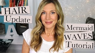 Hair Care Update + Wavy Summer Hair Tutorial