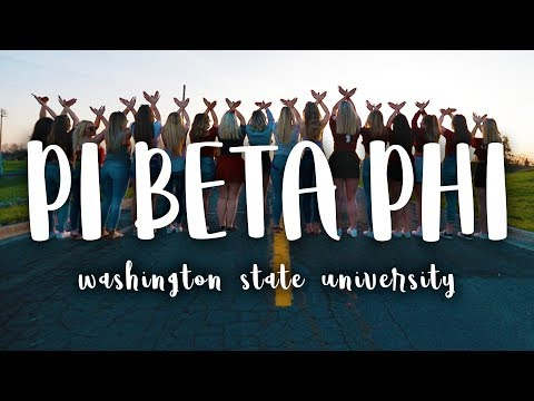 Pi Beta Phi // Washington State University 2018