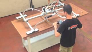 90. Vacuum Lifter And Crane - Pnt4f - Infissi / Doors And Windows