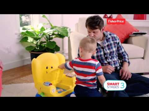 Smyths Toys - Fisher-Price Laugh & Learn Smart Stages Chair