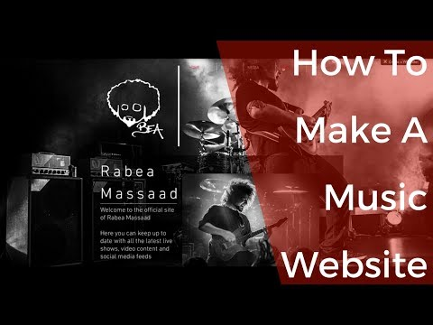 How to Make a Music Website | Awesome FREE Band Websites!!!