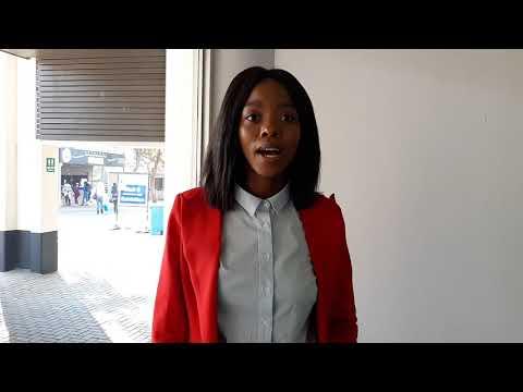 POWER 98.7's Mpumi Mlambo at the #GPYouthExpo2018