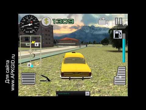 Видео обзор игры Симулятор Русского Такси 3D