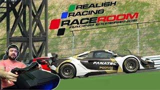 Как же этот симулятор хорош! Первая рейтинговая онлайн гонка в RaceRoom Racing Experience