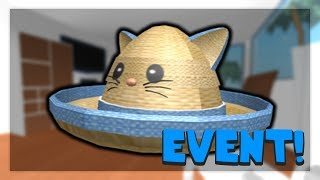 [ENDED] HOW TO GET THE KITTY-CAT STRAW HAT | Roblox Dodgeball