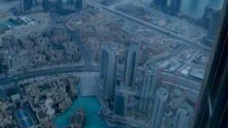 BURJ KHALIFA - BURJ DUBAI -  FIRST DAY