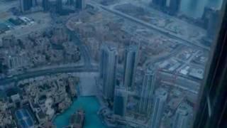 BURJ KHALIFA - BURJ DUBAI -  FIRST DAY